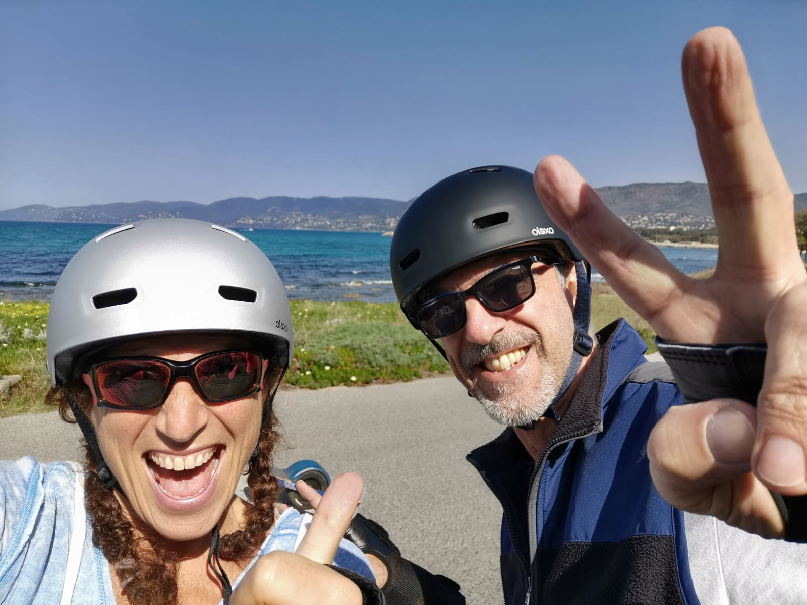 Martine et Eric de FunRiders Onewheel